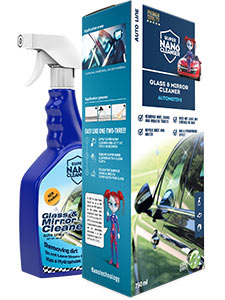 auto windows mirrors cleaner